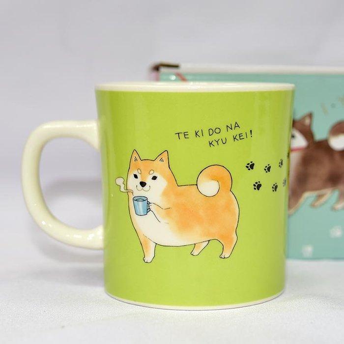 柴犬部長 休假日 陶瓷馬克杯 日本帶回