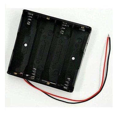 18650帶線電池盒 4節串聯 鋰電池盒 電池座帶引線 DIY雙節雙槽充電座  智能小車 Arduino【現貨】 新北市