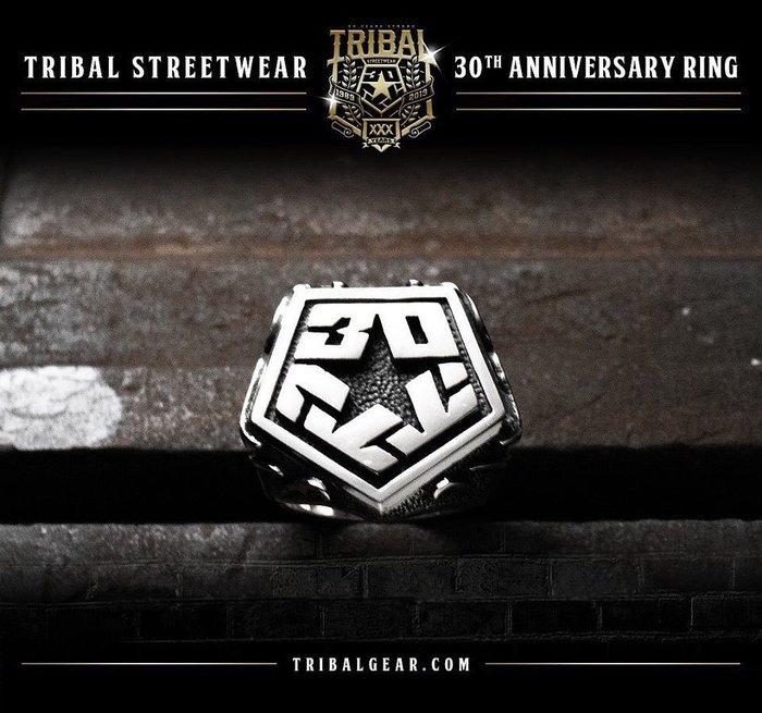 【DOOBIEST】- The Tribal 30 Year Anniversary T-Star Ring 純銀