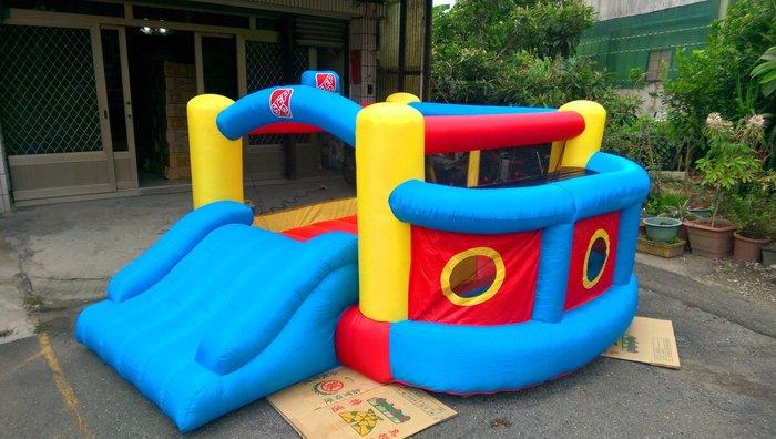 小孩 充氣 城堡 遊戲屋 蹦蹦床 玩具屋 彈簧床 溜滑梯 趣味活動 園遊會 環保材質 安全實用 收納方便(廣育充氣塑膠)