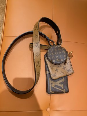 Louis Vuitton J02371 Shoulder Strap 肩背帶 老花 / 焦糖 現貨