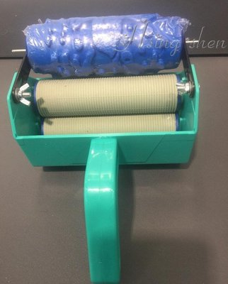 【( *^_^* ) 新盛油漆行】壁紙花造型滾輪+工具組 印花滾輪組 壓花滾輪組 創意花紋滾筒 壁紙印花