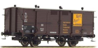 傑仲 博蘭 BRAWA 車廂 Freight Car DB Ⅲ Ritter Sport 48657 HO