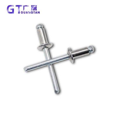 [M4 M4.8]開口型圓頭半不銹鋼鉚釘 不銹鋼鉚釘304 抽芯 拉柳釘【每個規格價格不同】