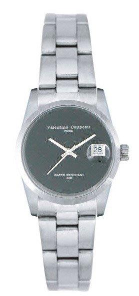 (六四三精品)Valentino coupeau(真品)(全不銹鋼)精準女錶(附保証卡)12168SL-18