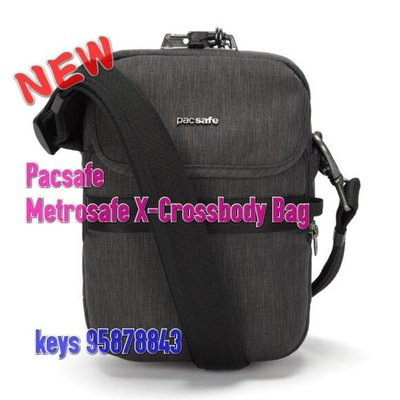 PacsafeMetrosafe X-crossbody 細斜肩包 防盗包 旅遊 RFIDsafe travel shoulder small bag