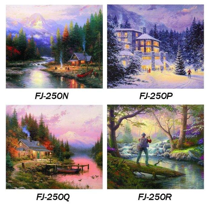 ☺暖暖屋☺傢居藝術館 托馬斯歐式油畫風景裝飾畫/掛畫/有框畫/多款樣式/多種尺寸