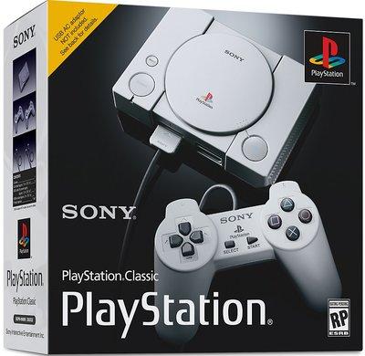 美版 PlayStation Classic PS mini 迷你 PS (現貨)