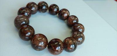 銅髮晶水晶手串