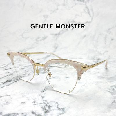 臭皮匠眼鏡【 精品名牌眼鏡Outlet 】GENTLE MONSTER 復古粉 Stum.P 眼鏡  超低特價!