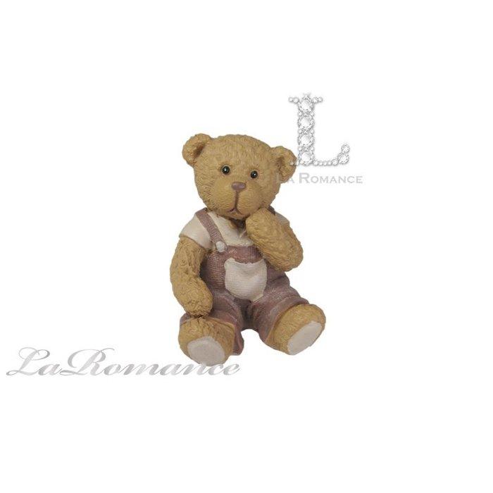 【義大利 Cupido & Company 特惠系列】 咖啡色男生情侶熊 (小) / 泰迪熊 / 童趣動物