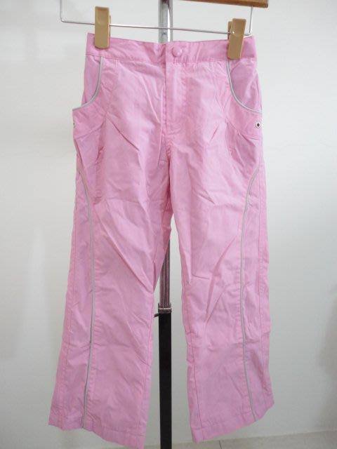 99元起標~bossini ~女童保暖長褲~粉色~SIZE:120