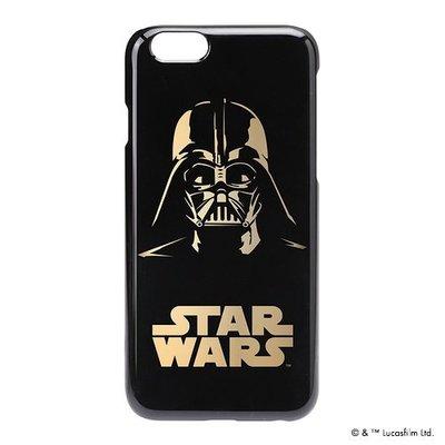 尼德斯Nydus~* 日本正版 迪士尼 星際大戰 硬殼 手機殼 黑底燙金 黑武士 達斯維達 4.7吋 iPhone6