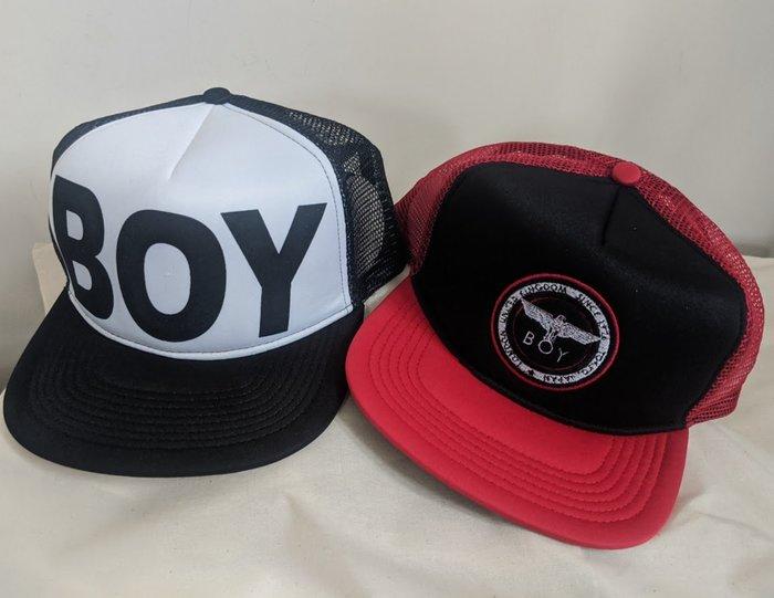 〔英倫空運小鋪〕*超值折扣特區 英國代購 65折 BOY LONDON 棒球帽 帽子 一組兩頂 中性款