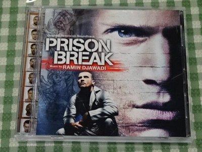 《啟元唱片》電影原聲帶 O.S.T. [RAMIN DJAWADI] 越獄風雲 PRISON BREAK 片況良好