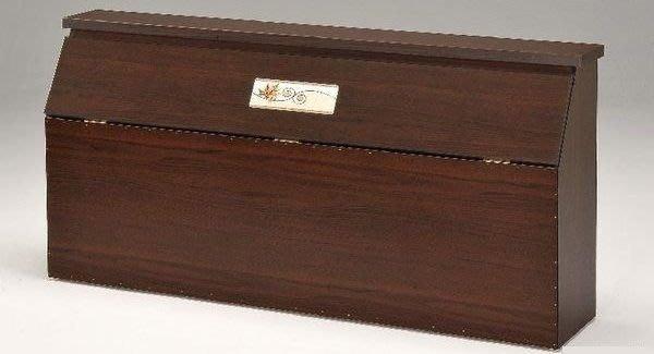 桃園國際二手貨中心 --- 居家好幫手 --- 標準雙人床頭箱 共有兩色可選(白橡色+胡桃色)