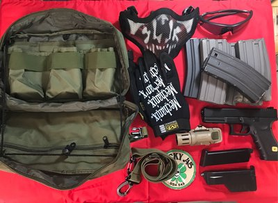 MOLLE Load Gear Bag/Larger - Green