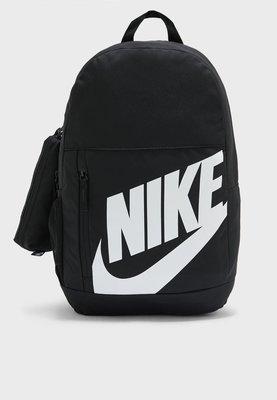 NIKE 黑色 黑白 筆電包 運動健身訓練 後背包 書包 附筆袋 BA6030-013 請先詢問庫存