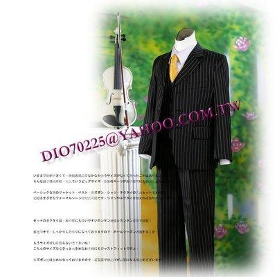 米米世界【全館現貨】 GK5211兒童西裝禮服/西裝外套.背心.西褲.襯衫.領帶/小小花童服42號尺碼