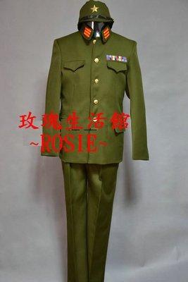 【玫瑰生活館】~ 日本軍官服,日本抗戰服裝.: M號L號,(有鬆緊腰圍)