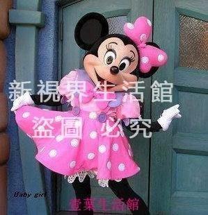 【新視界生活館】粉色米老鼠卡通服裝粉色...