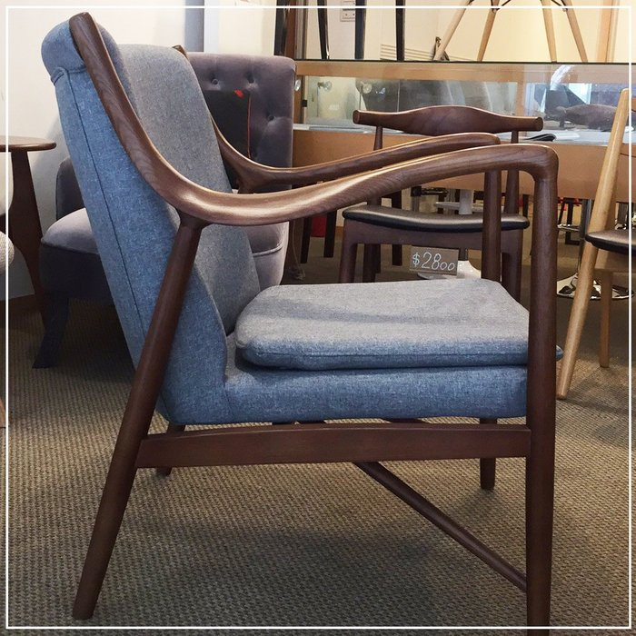 [ 椅子王 ]---- 丹麥設計師 Model 45 Easy chair,復刻版《特價》