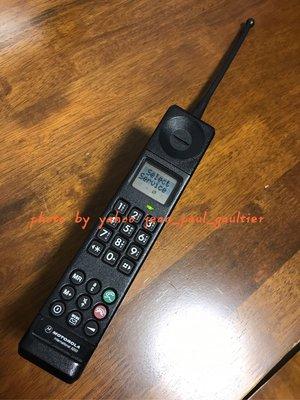 90年代 摩托羅拉 motorola intemational 3200 GSM 插卡 大哥大 水壼(rolex popy) 80s 絕版 電話 手機