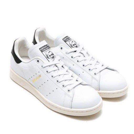 ADIDAS ORIGINALS STAN SMITH 史密斯 皮革 奶油底 金標 滑板鞋 S75076 男女鞋 白