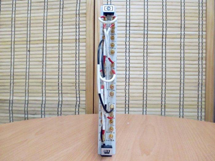 康榮科技二手儀器HP/Agilent E1472A 50Ohm RF Multiplexer VXI Module