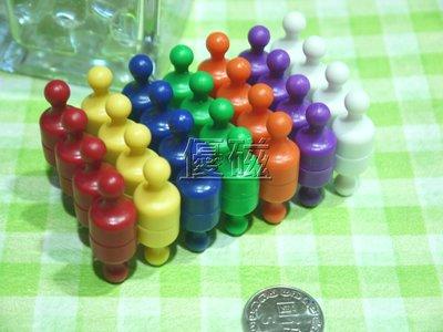 『優磁』強力磁鐵圖釘---直徑12 (56個下標區)