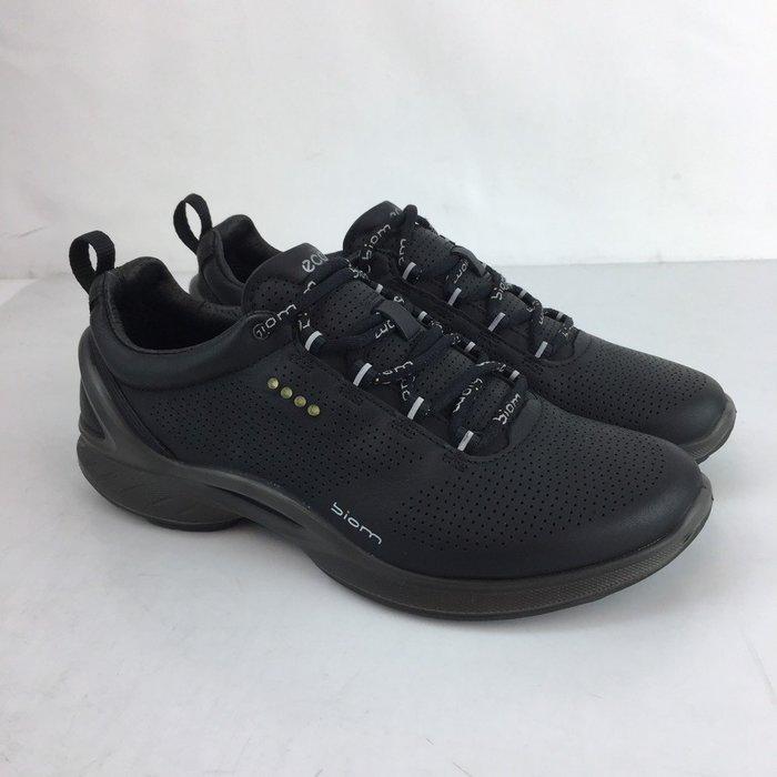 玉米潮流本舖 ECCO BIOM FJUEL 83751301001  黑色  牛皮 慢跑鞋