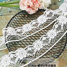 『ღIAsa 愛莎ღ手作雜貨』手工DIY娃衣裙鑲邊黑白色無彈蕾絲花邊洛麗塔髮帶手賬復古