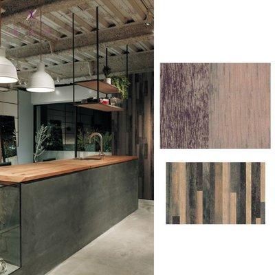 【夏法羅 窗藝】日本進口 仿建材 仿刷色 仿木紋 仿木頭 時尚質感壁紙 DW-174732