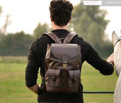 【Lia英國代購】 Beara Beara  SAN JOSE BROWN皮革後背包『預購』 #B15