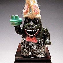 【 金王記拍寶網 】(常5) W5257 早期日製 老玩具 哥吉拉哥哥  噴火花玩具一隻 罕見稀少