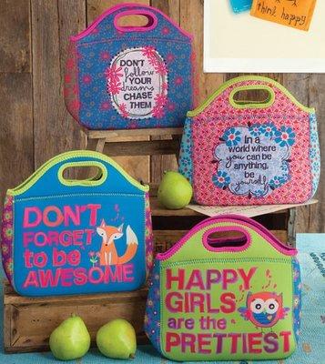 蘇菲亞精品傢飾~美國鄉村風品牌印花繽紛潛水布手提袋
