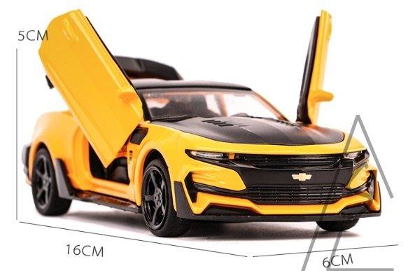 阿莎力 1:32 合金 大黃蜂 聲光合金車 變形金剛