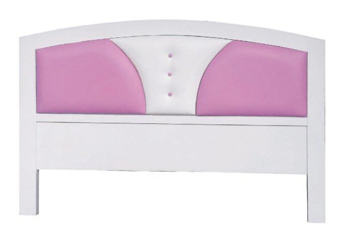 【南洋風休閒傢俱】精選時尚床片   雙人床頭片-朵拉5尺床片 粉白CY109-56