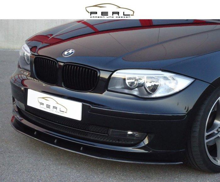 【樂駒】Perl Carbon Design BMW E81 E88 LCI 碳纖維 前下擾流 前下巴 輕量化 空力