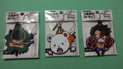 最新款 日本帶回 COSPA 金證 全新 海航王 海賊王 手機吊飾 鑰匙圈 四檔 魯夫 貝波熊 索隆