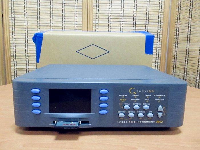 康榮科技二手儀器Quantumdata 882E (W2642A) Video Test Instrument 極新