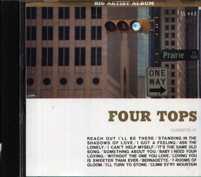 K - FOUR TOPS REACH OUT I'LL BE THERE - 日版