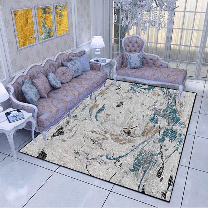 創意 夏季 必備北歐地毯客廳茶幾墊現代簡約幾何臥室沙發床邊家用地墊地毯定制