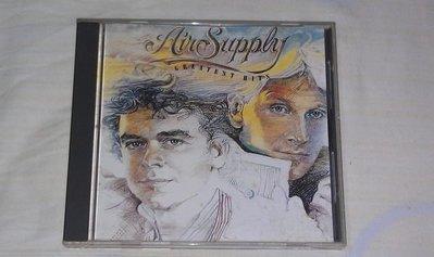 【李歐的音樂】ARISTA唱片1983年 AIR SUPPLY Greatest Hits CD 無ifpi 下標就賣