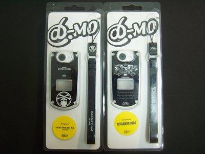 NEIGHBORHOOD MASTERMIND JAPAN  MMJ 品牌字體LOGO 黑色 真皮 手機吊飾