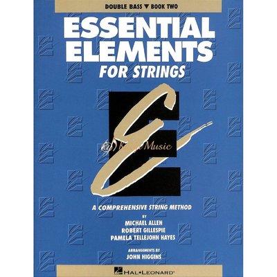 【Kaiyi Music】Essential Elements Double Bass Book Two低音提琴教材樂譜