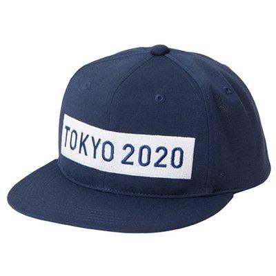 【予約】東京奧運2020年限定紀念品 Asics藍色帽