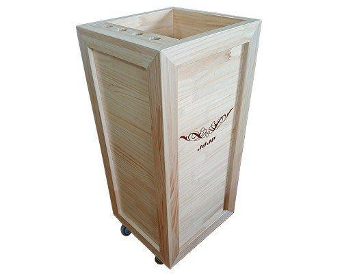 【森林原木手工家具】原木美髮工作收納櫃