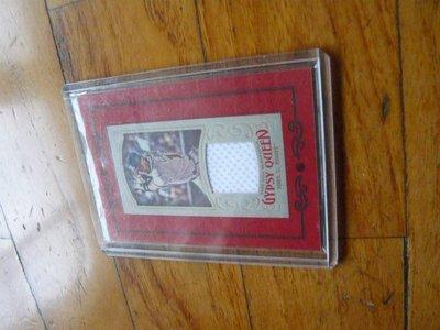 傳奇強打CHIPPER JONES球衣卡一張~150元起標