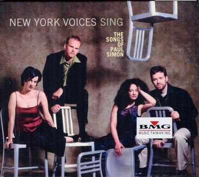 NEW YORK VOICES--SING THE SONGS OF PAUL SIMON